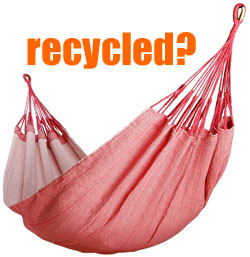 Recycled Eco Hammock