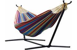 Polyester Double Hammock with Steel frame