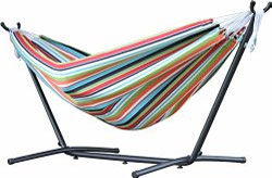 Sunbrella Double Hammock with Frame