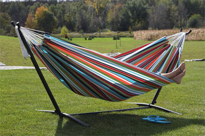 hammock with frame