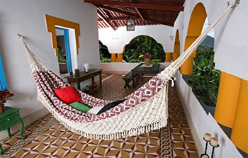 Handwoven Indoor Hammock