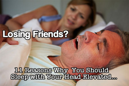11 Reasons Why You Should Sleep with Your Head Elevated